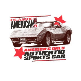Classic American - T-Shirt - America's Authentic