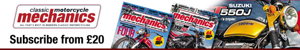 Classic Motorcycle Mechanics Magazine Subscription