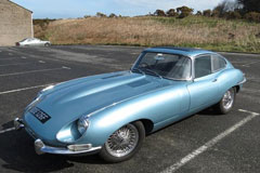 Best British Car - E-Type Jaguar at The Footman James Bristol Classic Car Show