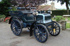 Collins 1897 Daimler at The Footman James Bristol Classic Car Show