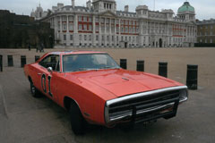 General Lee Dodge Charger at The Footman James Bristol Classic Car Show