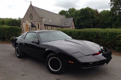 Knight Rider Kit at The Footman James Bristol Classic Car Show