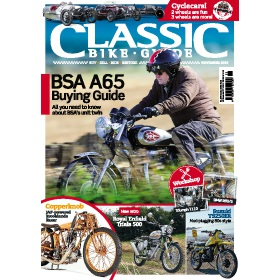 Subscribe to Classic Bike Guide Magazine