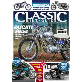 Classic Bike Guide Magazine Subscription - Digital subscriptions for only £9.99!