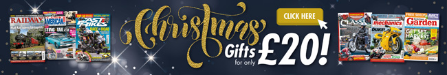 Christmas Gifts for only £20 - A Magazine Subscription the perfect present
