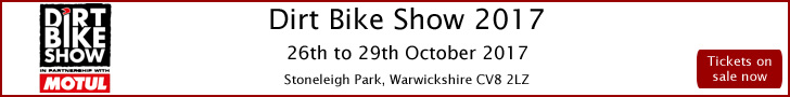 International Dirt Bike Show 2017, Stoneleigh Park, Warwickshire, Tickets Available!