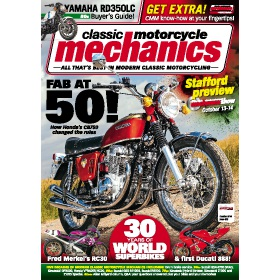 Classic Motorcycle Mechanics Magazine Subscription - The perfect Christmas present