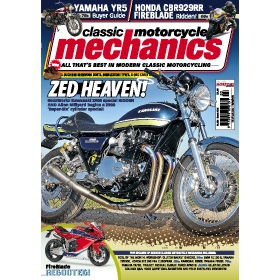 Classic Motorcycle Mechanics Magazine Subscription - Digital subscriptions for only £9.99!