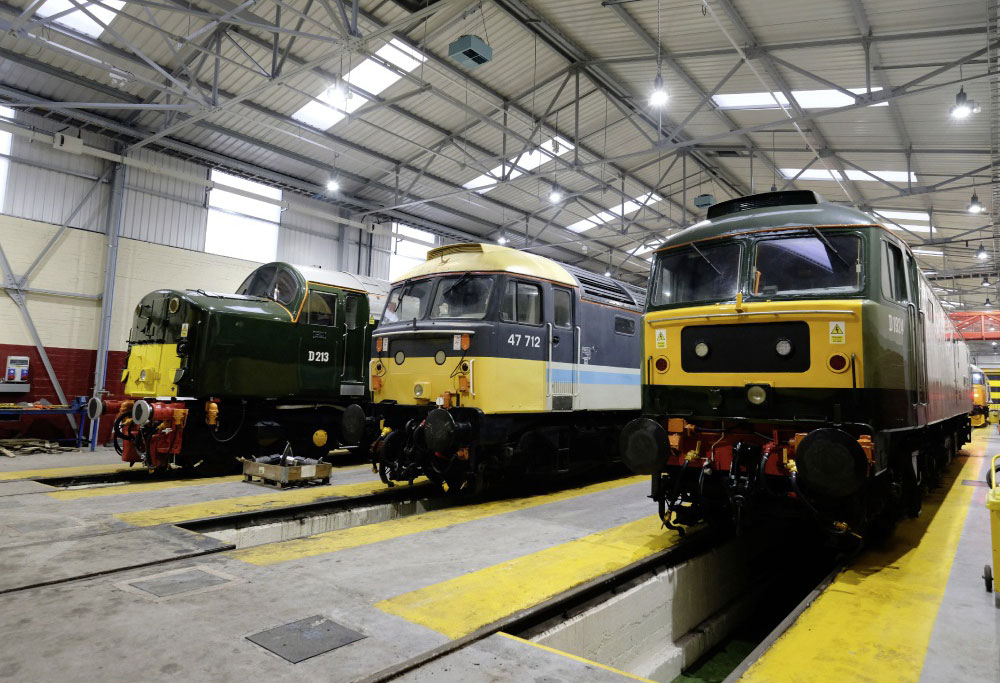 All Change - Charity Open Day planned for Crewe Diesel Depot - 8 June 2019