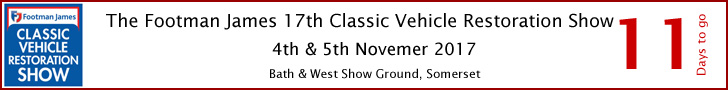 Classic Vehicle Restoration Show 2017