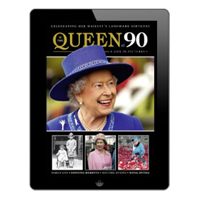 The Queen at 90 - A life in pictures Bookazine
