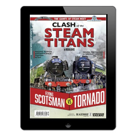 Clash of the Steam Titans Book (Bookazine)