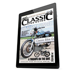 Classic Bike Guide Magazine - Digital Subscription