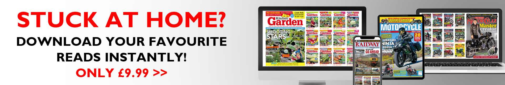 Digital subscriptions for only £9.99!