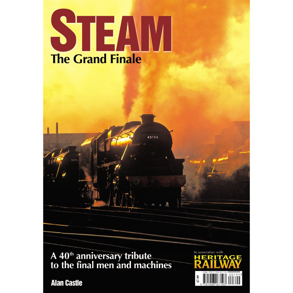 Steam: The Grand Finale by Alan Castle (Bookazine)