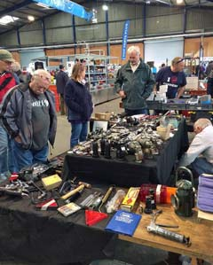 Huge autojumble with some amazing bargins and rare finds at The Great Western Autojumble