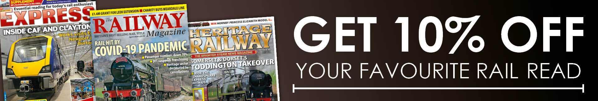 Railway Magazine Subscription Deals