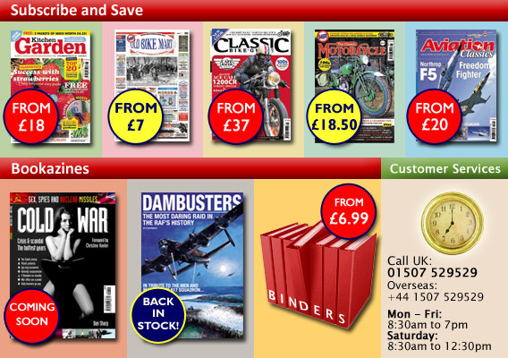 ClassicMagazines.co.uk - Subscription and product offers
