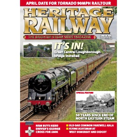 Heritage Railway Magazine Subscription - The perfect Christmas present