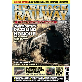 Heritage Railway Magazine Subscription - Digital subscriptions for only £9.99!
