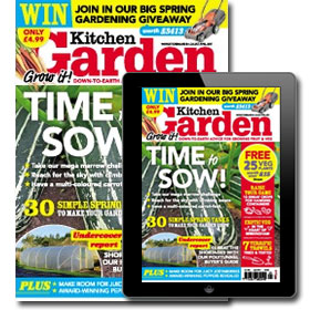 Kitchen Garden Magazine - Print and Digital Subscription