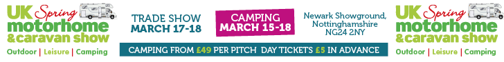 Motorhome & Caravan Show - Spring - 17-18 March 2018