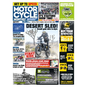 Motorcycle Monthly Newspaper Subscription