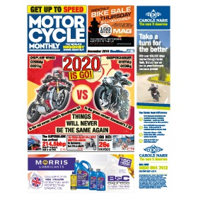 Subscribe to Motorcycle Monthly Newspaper