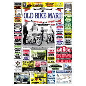 Old Bike Mart Newspaper