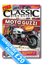 classic Bike Guide Magazine Sybscription