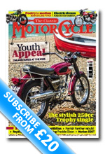 The Classic MotorCycle Subscription