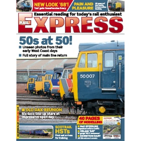 Rail Express Magazine Subscription - The perfect Christmas present