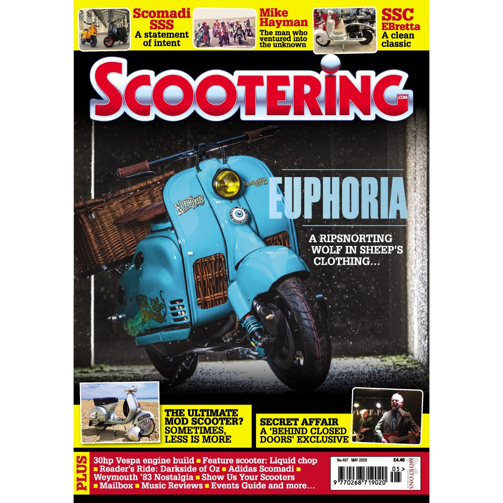 Scootering Magazine Subscription - May 2020 Offers