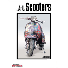 The Art of Scooters by Andy Gillard (Bookazine)