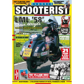 Classic Scooterist Magazine Subscription - The perfect Christmas present