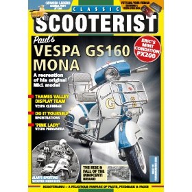 Classic Scooterist Magazine Subscription - Digital subscriptions for only £9.99!