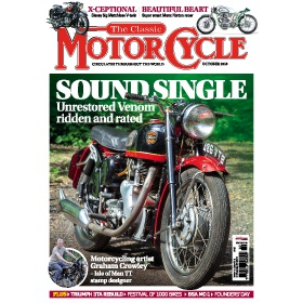 The Classic MotorCycle Magazine Subscription - The perfect Christmas present
