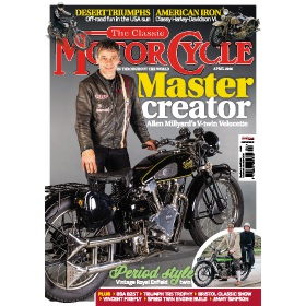 The Classic MotorCycle Magazine Subscription - Digital subscriptions for only £9.99!