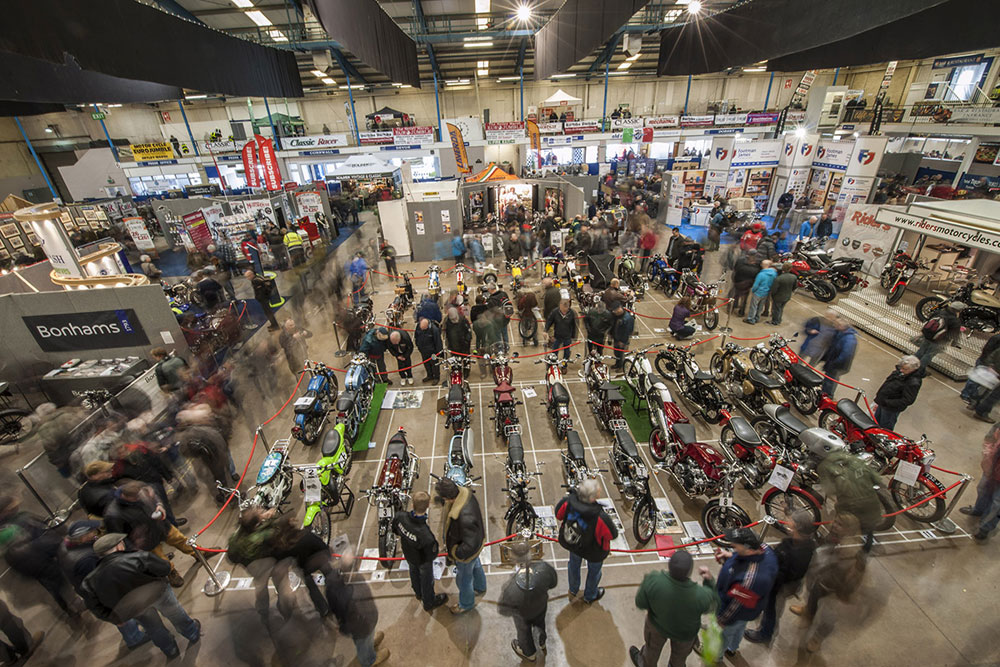 Exhibition Displays Bristol : The th carole nash bristol classic motorcycle show