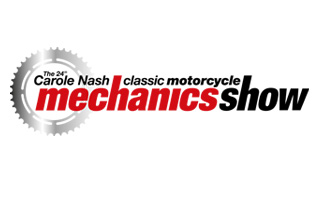 The 25th Carole Nash Classic Motorcycle Mechanics Show Staffordshire County Show Ground, Staffordshire ST18 0BD