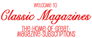 Welcome to Classic Magazines Summer Sizzler Special Offers
